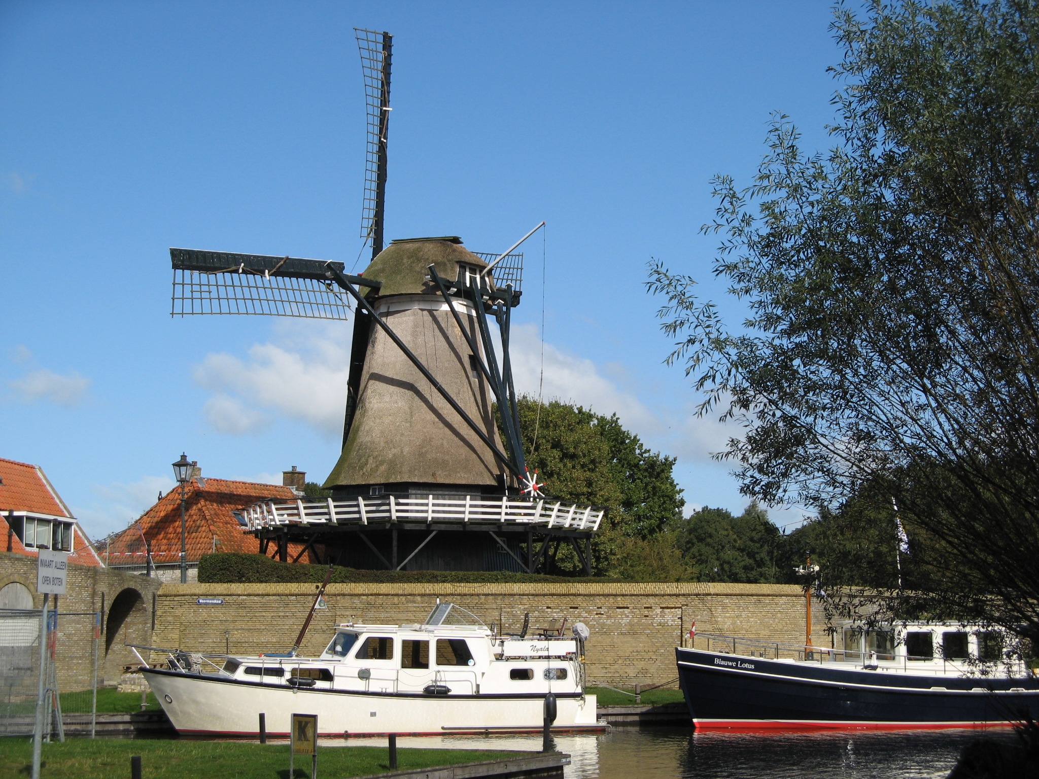 Korenmolen in Sloten